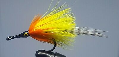 2QTY WOOL HD SCULPIN OLIVE Fly Fishing Flies size 06