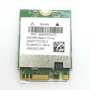Broadcom Bcm94352z Dw1560 6xryc 802 11 Ac 867 Mbps Bluetooth 4 0 Wifi Wlan Card Ebay