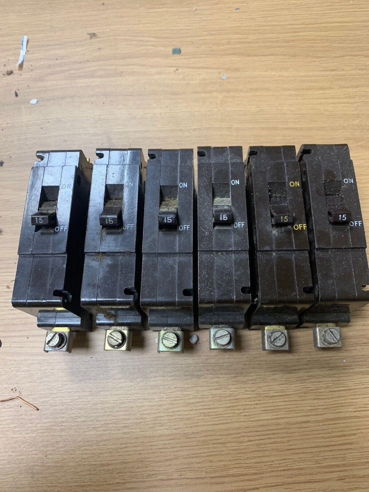 Crabtree Type C50 Mcb 15 Amps