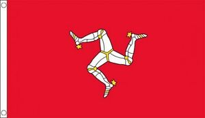ISLE-OF-MAN-FLAG-5-X-3-FT-MANX-LEGS-ISLAND-TT-RACING