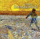 Streichquartette 14,15  op.142,144 von Prazak Quartet (2014)