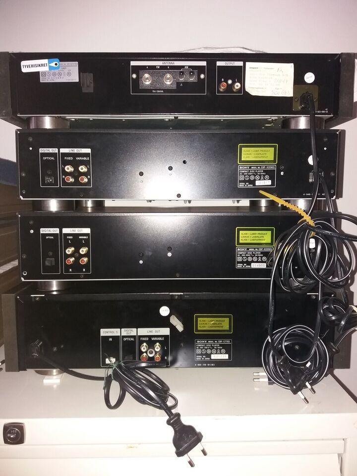 Stereoanlæg , Sony, ES