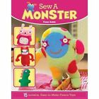 Sew a Monster by Fiona Goble (Paperback, 2015)