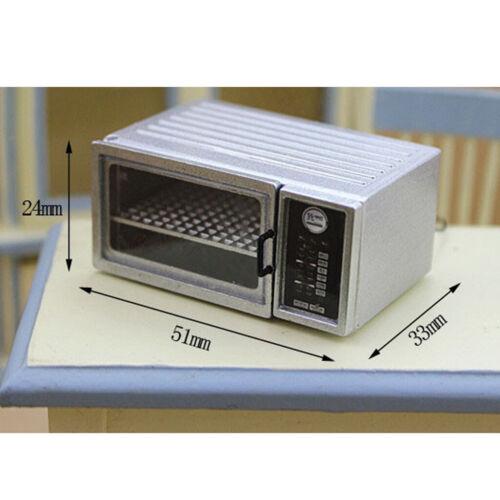 1//12 Dollhouse Miniature Furniture Microwave Oven Family Appliances Kitchen