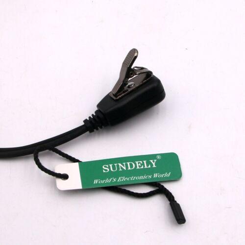 For Kenwood Radio Clip-Ear Earpiece//Headset PTT Mic TK3360 TK2360 NX220