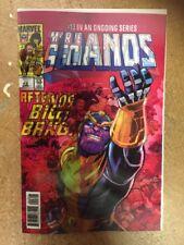 Thanos #13 Cosmic Ghost Rider  Lenticular 3-D LH Comic 1st Print