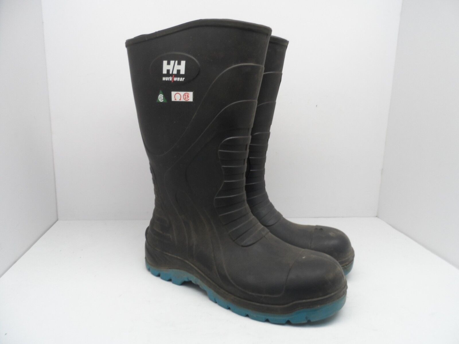 HELLY HANSEN WORKWEAR Women's Steel Toe Steel Plate PU Safety Boots Black 10M