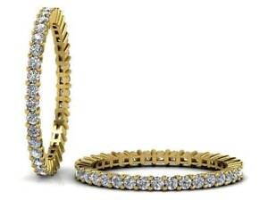 0-75CT-Round-Brilliant-Cut-Diamond-Full-Eternity-Wedding-Ring-in-18K-Yellow-Gold