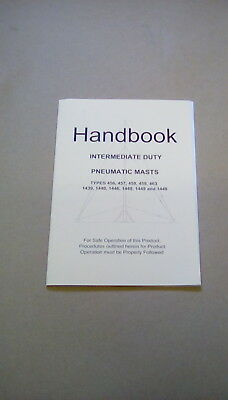 USER HANDBOOK INTERMEDIATE DUTY PNEUMATIC MASTS RACAL 456200