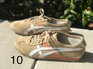 Wmn Asics Onitsuka Tiger Leather Shoes