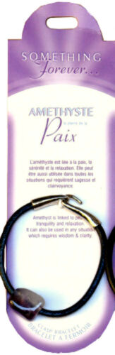 Bracelet Fermoir Améthyste