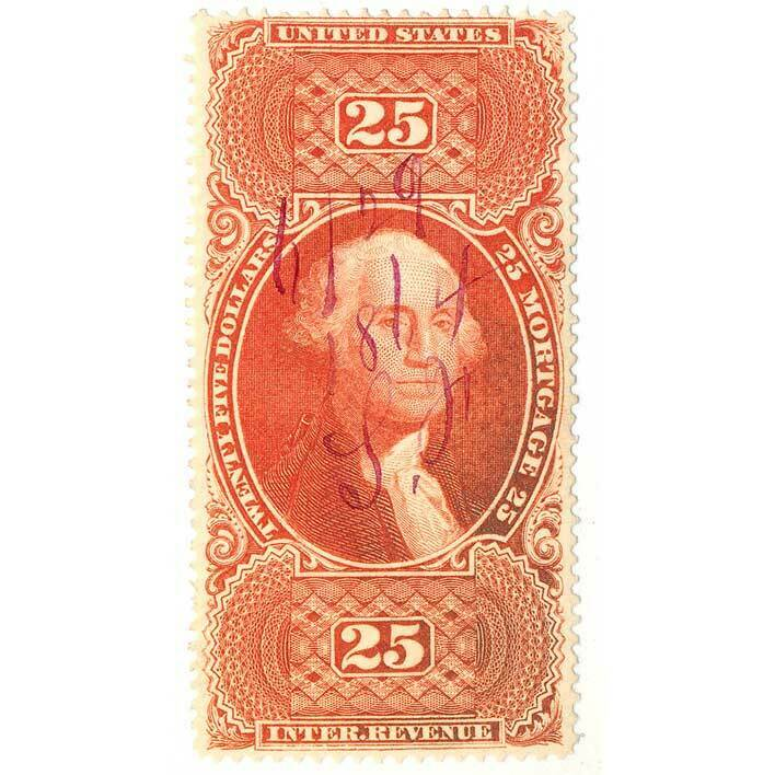 1862-71 R100c First Issue Mortgage