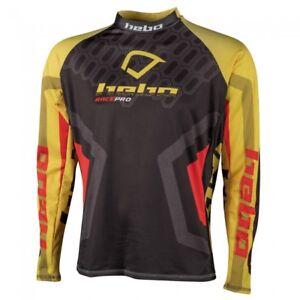 Hebo Race Pro Trials Shirt Yellow//Black Enduro MX Off Road