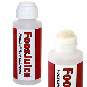 Foosball Rod Lubricant 100% Silicone with Dauber Top Applicator - EZ to Use Lube
