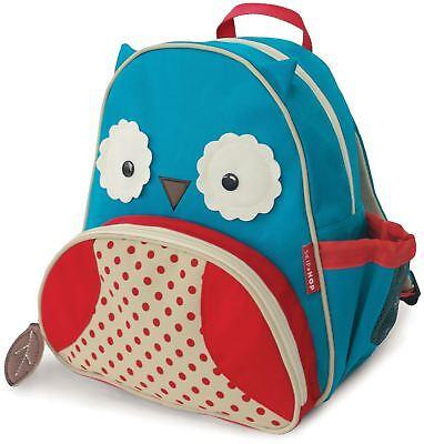 Fashion Style Skip Hop Zoo Bambino Back Pack-owl Bambini Vestiti Accessori Borse Bn-mostra Il Titolo Originale
