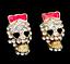 US-Seller-Betsey-Johnson-Halloween-Crystal-Sugar-Skull-Stud-Earrings thumbnail 15