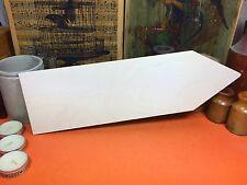 In Legno forma di freccia due forme segno 34.5cm (x1) le forme di legno Artigianato Matrimonio