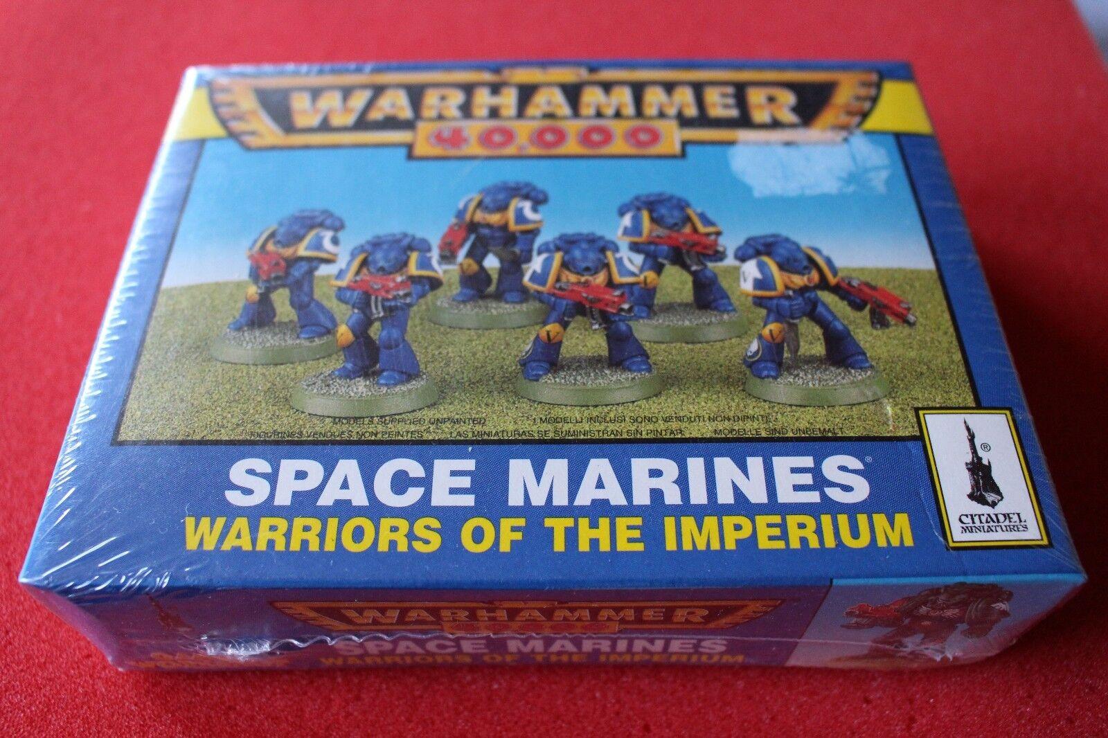 Spiele warhammer 40k space marines  krieger des imperium boxed neue