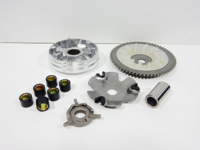 50cc Variator Assembly With 4 Stroke Qmb139 Motor Scooter Moped Atv Go Kart For Sale Online Ebay