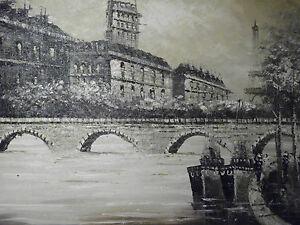 paris-oil-painting-canvas-black-white-french-cityscape-contemporary-original