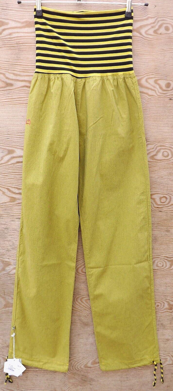 E9 Lem Climbing Pants for Ladies with Roll Waistband Cedar SIZE S