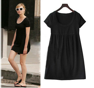 S-5XL Plus Size women Fashion Casual Europe dress Lady black Summer free ship