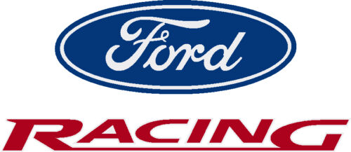 """FORD RACING FACTORY PRINTED DECAL  {  11.75/"""" X 28.5/"""" }   $16.98   FREE SHIPPING"""