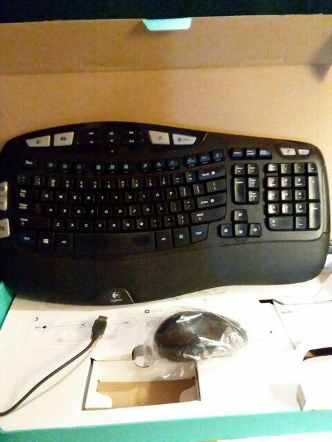 Logitech MK550 (920-002555) Wireless Keyboard and Mouse Combo - Black