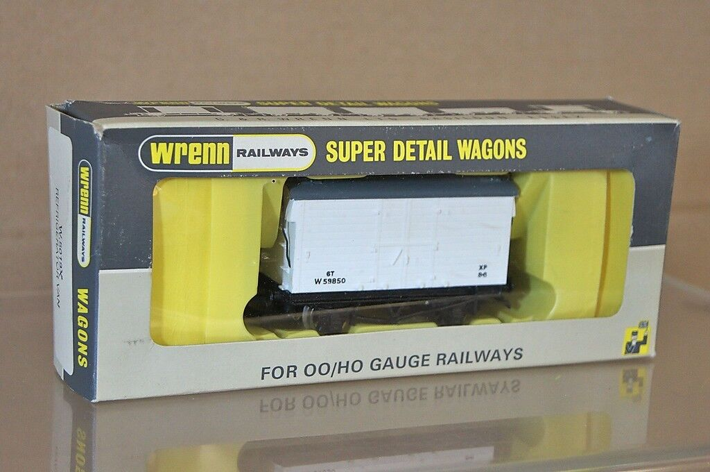WRENN W5019X BR REFRIDEGERATOR MICA B B B VAN WAGON W59850 LONG BOX MINT BOXED nc 13bc86