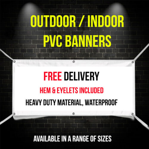 Exhibition Display Waterproof PVC Banners Outdoor// Indoor Advertising Sign
