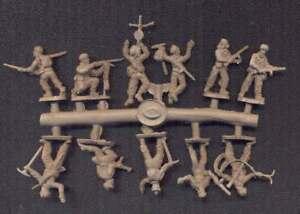 Model Kit Soldatini Figure PEGASUS 1//72 7510 WWII GERMAN 75mm Ie IG18