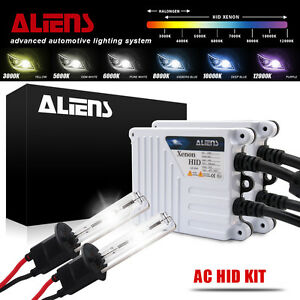 Low Beam AC Slim Ballasts H4 6000K Xenon HID Headlight Conversion Kit High