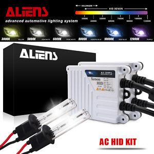 55W H11 Aliens HID Xenon Bulbs Lamp Headlight Slim Ballast Conversion Kit