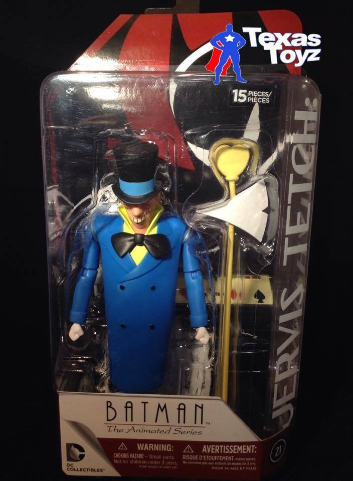 NBA DC Collectibles New Batman Animated Adventures Mad Hatter 6in Action Figure