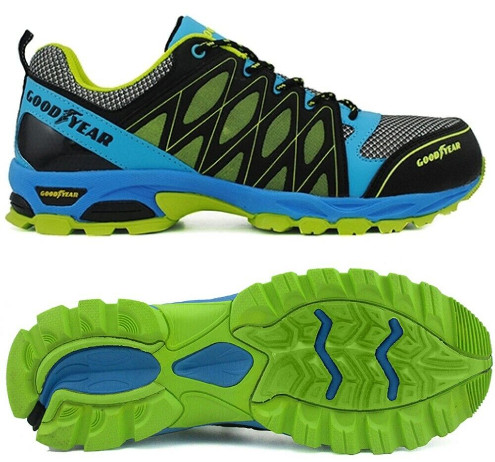 Goodyear S1 1503 Calzado de Seguridad Trabajo Zapatos Planos