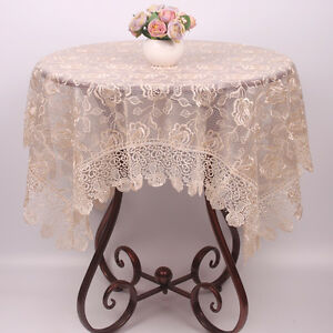 Etonnant Image Is Loading Light Brown Chinese Red Tablecloths  Elegant Rose Embroidered