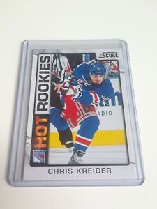 2012-13-Score-Chris-Kreider-Hot-Rookies-543-Rc-Rookie-New-York-Rangers-L-K