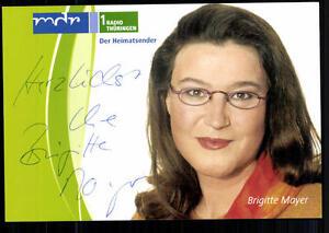 Brigitte Mayer MDR Autogrammkarte Original Signiert ## BC 24683 - Niederlauer, Deutschland - Brigitte Mayer MDR Autogrammkarte Original Signiert ## BC 24683 - Niederlauer, Deutschland