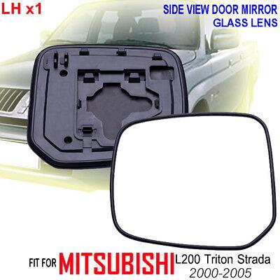 "FOR Toyota Yaris Vitz 2005-2010 SIDE VIEW DOOR MIRROR GLASS /""LENS LEFT/"""