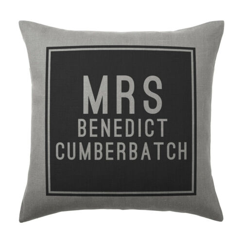 Benedict Cumberbatch Coussin Pillow Cover Case-Cadeau
