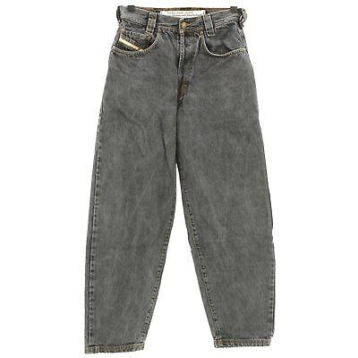 Imparato #4249 Diesel Jeans Uomo Pantaloni Old Saddle Denim Black Stone Nero 28/28-mostra Il Titolo Originale