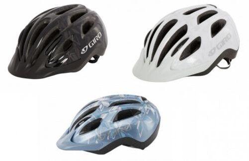 Giro Venus II Ladies Unisex Bike Helmet Vented Adjustable 54-57cm, White O bluee