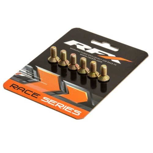 Yamaha YZ//YZF RFX High Tensile Steel Disc Bolt Kit Front