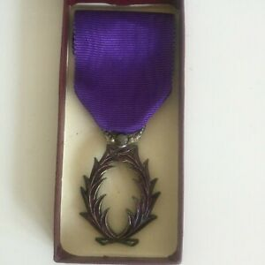 Palmes-Academiques-Medaille-Officier-Ancienne-Collection-Medaille-Militaria