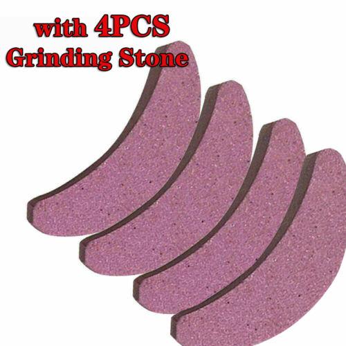 4Pcs Grinding Stone Chainsaw Teeth Sharpener Bar-Mount Chain File Sharpening