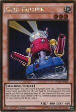YuGiOh Card Trooper - PGL2-EN028 - Gold Rare - 1st Edition Near Mint