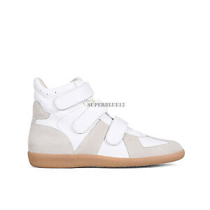 7f7632b2670 Details about MAISON MARTIN MARGIELA GERMAN ARMY TRAINERS HIGH TOP SNEAKERS