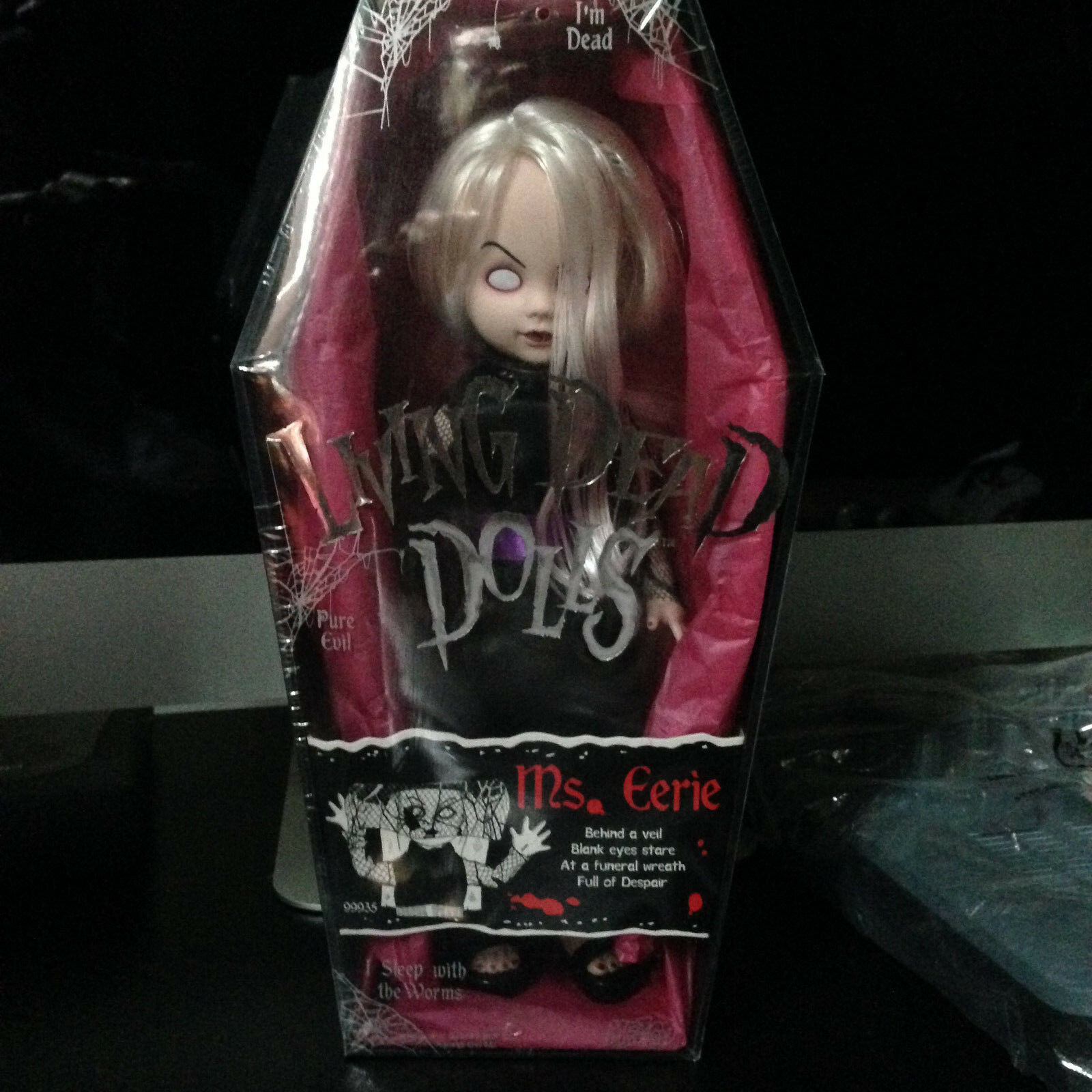 LIVING DEAD DOLLS Ms. Eerie SERIES 4  RARE- SEALED NEW (NUOVO)