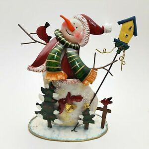 Villeroy-amp-Boch-Snowman-Holiday-Christmas-Votive-Tea-Light-Holder