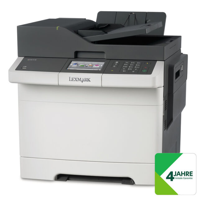 LEXMARK CX417de Farblaser-Multifunktionsdrucker - A4, 4-in-1, Drucker, Kopierer